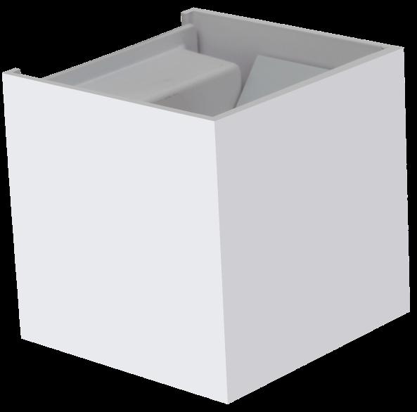 cube ern 3w led interi rov osv tlen. Black Bedroom Furniture Sets. Home Design Ideas